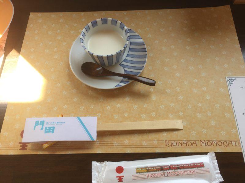 八幡浜編の食前スープ