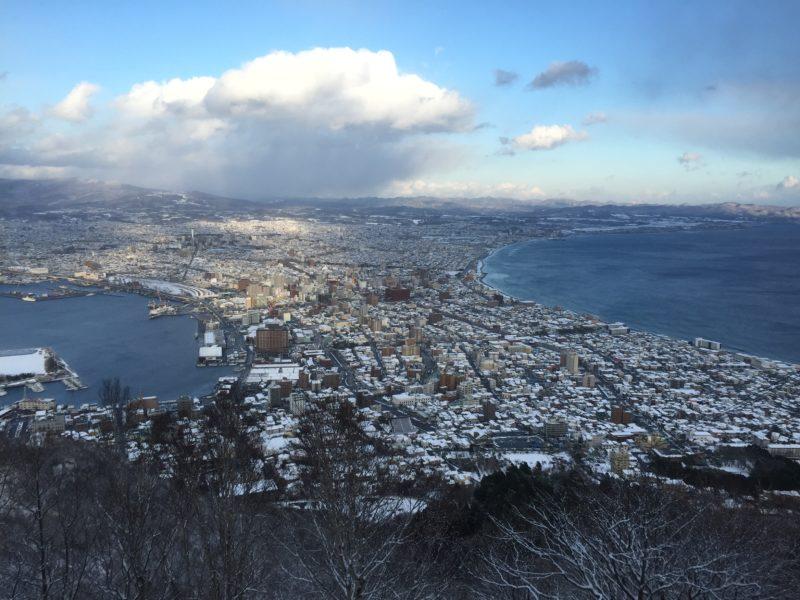 函館山からの風景(昼間)