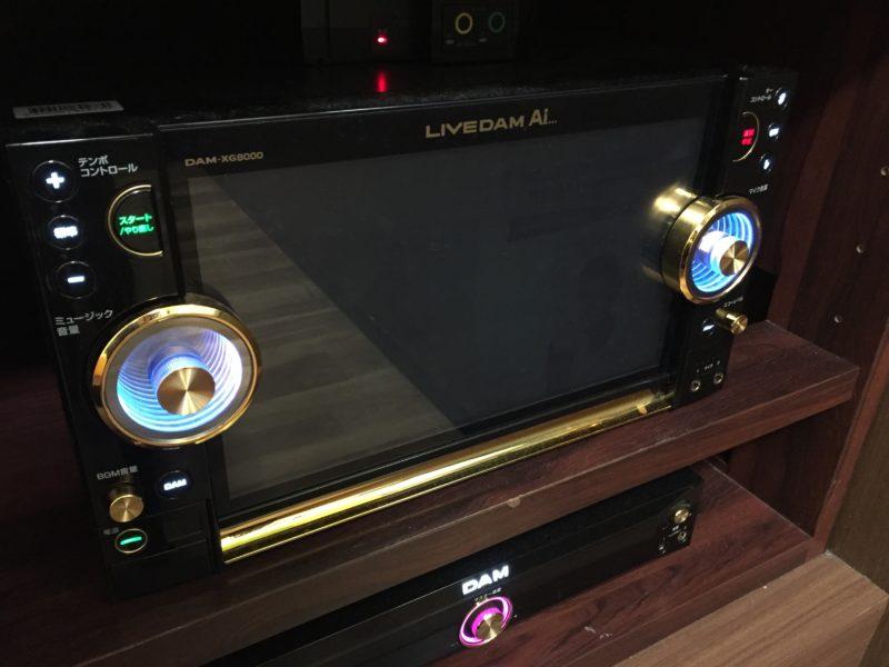 最新カラオケ機器「LIVE DAM AI」