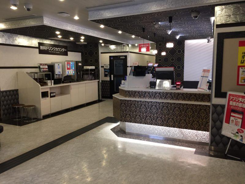 ジャンカラ博多駅筑紫口店の受付フロア