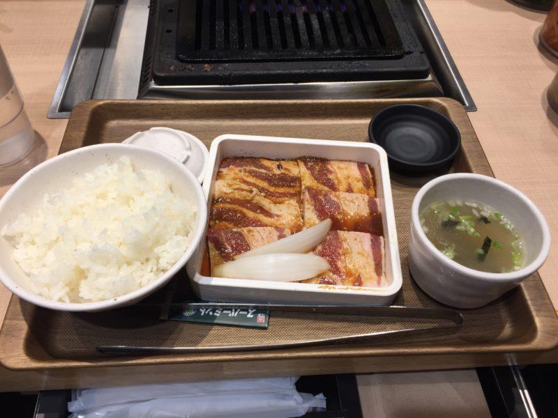 焼肉定食専門店「トノサマカルビ」の極味秘伝たれ熟成カルビ定食